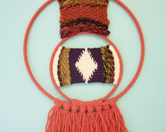 Double Orange Ring Weaving