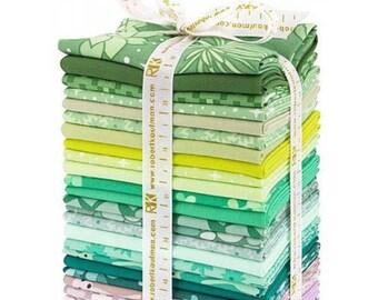 Terrarium by Elizabeth Hartman - FQ Bundle - Cool Colors - 26 FQ's