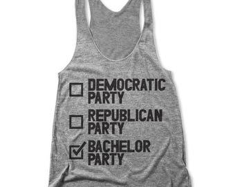 Bachelorette Party (Women's Racerback Tank)