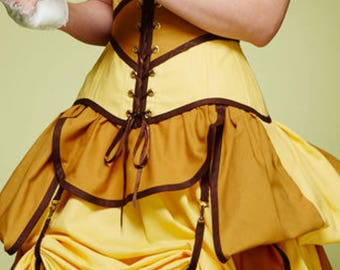 Add Skirt Hikes to Any Skirt with your color choice of strap -  by LoriAnn Costume Designs
