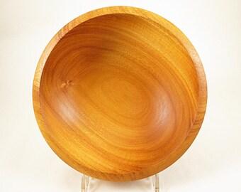 Osage Orange Bowl, Wooden Salad Bowl, Fruit Bowl, Wood Candy Dish, Ring Dish, Coin Dish, Rustic Home Decor, Hand Turned Bowl