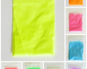 Day glow glow in the dark powder - make your resin jewelry and crafts glow