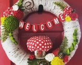 Listing for dmarieinteriors - Woodland Welcome Wreath