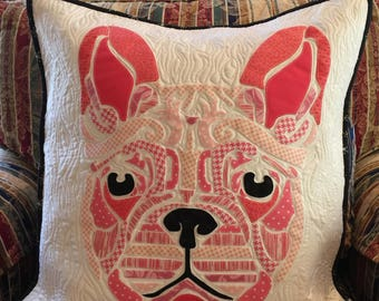 Frenchie the Bulldog Pillowcover