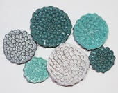 In-Stock Wall Flower Set of 6