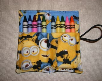 Crayon Rolls . Party Favor . Minions . Despicable Me