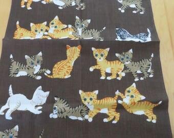 Vintage Kitten Tea Kitchen Towel Ulster Linen