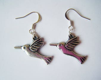 Earrings ♥ ♥ silver swallows