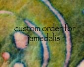 This is a custom order for jamedalis