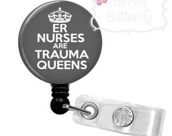 ER Nurse Badge Reel