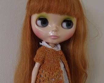 BLYTHE CARDIGAN/TOP, Blythe outfit, Blythe clothes, Blythe knitted top/blythe crochet