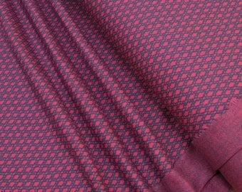 lillestoff Jacquard knitwear blueberry pitti Organic-Cotton 0.54yd (0,5m) 003340