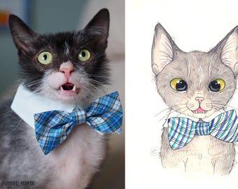 Custom Dog or Cat Watercolor