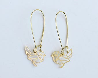Bird Geometric Earrings | ATL-E-188