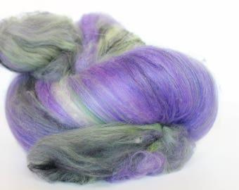 Targaryen 3.6 oz  Wool - Merino // Art Batt // Wool Art Batt for spinning or needle felting