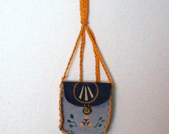 Awen and Oak Druid Spell Bag, Medicine Bag