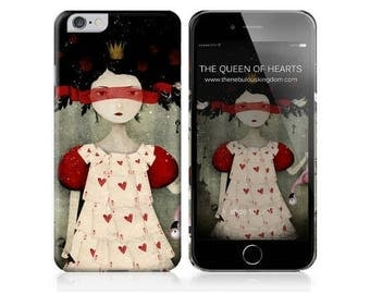 10% Off - Summer SALE Phone Case - The Queen of Hearts - iPhone 4 - 4S - iPhone 5 - Samsung Galaxy