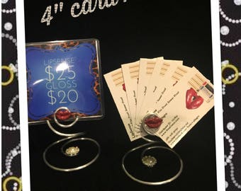 Lip Boss  sign holder - Lip Display Counter display wire card holder for LipSense and more!