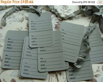 ONSALE One Dozen Vintage Style Price Tags for Altered Art