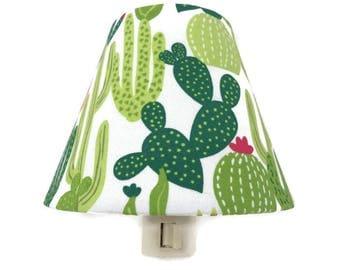 Cactus Nursery Decor - Cactus Night Light - Succulent Night Light - Kids Night Light - Cactus Wall Decor - Baby Room Night Light