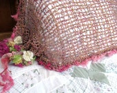 woodland faerie pillow case from the enchanted forest -  rose garden dream pillow cover