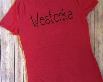 Westonka shirt, westonka pride gear
