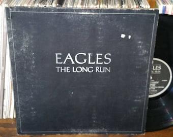 The Eagles The Long Run Vintage Vinyl Record