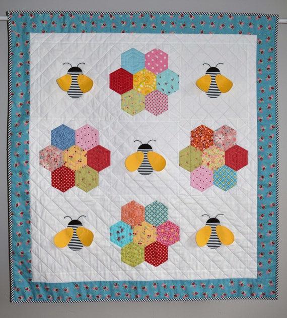 https://img1.etsystatic.com/217/0/5482865/il_570xN... : bee quilt pattern - Adamdwight.com