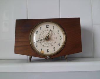 Vintage WESTCLOX Wood Clock