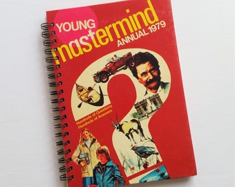 Young Mastermind Annual, 1979, Recycled Book Journal & Notebook