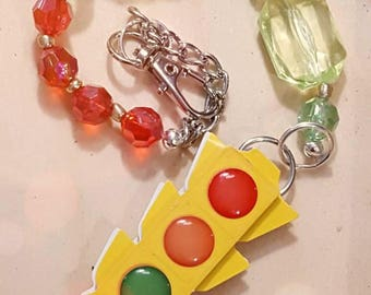 Beautiful Sun-catcher Car Ornament- Traffic Signal
