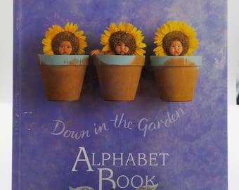 First Edition 1997 Anne Geddes Alphabet Book - Childrens Book - Down in the Garden - Truly Delightful