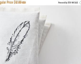 SALE Bird Feather Drawer Sachet, Natural Home Decor, Lavender Scented
