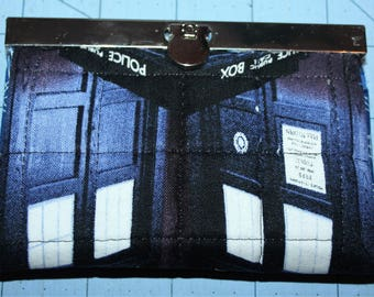 Dr Who Tardis Card Holder