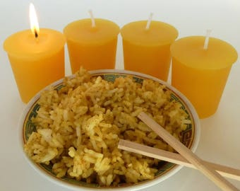 CURRIED RICE (4 votives or 4-oz soy jar candle)