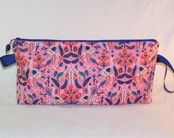 Tapestry in Rose Anna Clutch