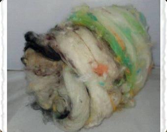 Hampshire cross Wool Blend Batt  (#9)