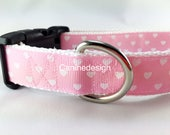 4ft Hearts Pink Leash