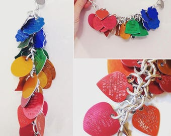 S.M. Kovac: CUSTOM charm necklace made from YOUR items