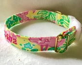 SALE*******Lilly Pulitzer  Dog Collars******* For Small and Extra Small Collars