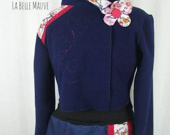 Lauviah polar jacket with flower
