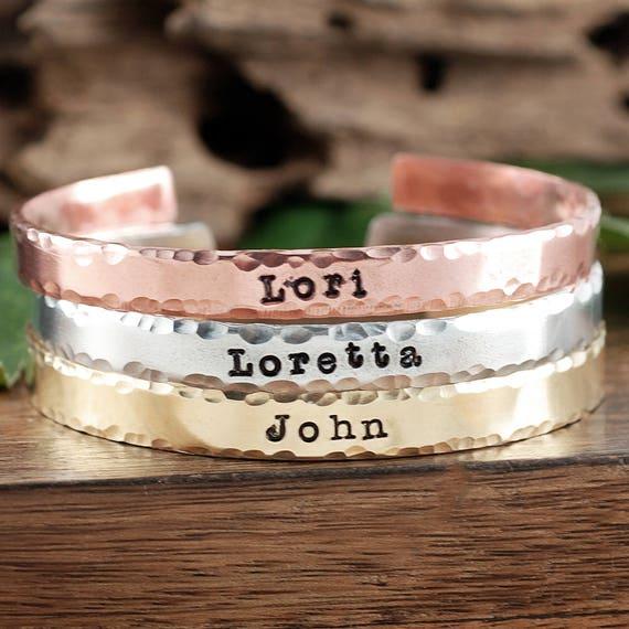 Cuff Bracelet, Custom Cuff Bracelet, Name Bracelets, Custom Bracelet, Children's Name Bracelet, Grandma Bracelet, Gift for Mom Bracelet