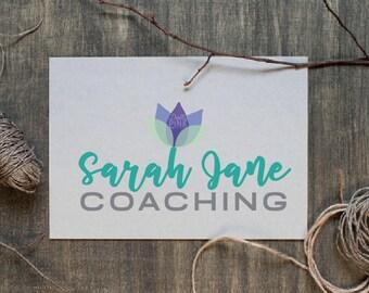 Premade Logo Design Life Coaching