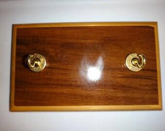 Key Rack with 12 gauge shotgun shell casings