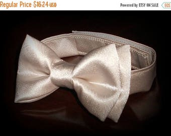 SALE Champagne Bowtie - Infant, Toddler, Boys- Creme, Tan, Beige -            4 weeks BEFORE SHIPMENT