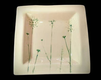 Queen Ann's Lace Platter
