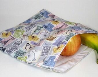 International Stamps Large Resuable Bag
