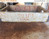 RESERVED FOR ERIN Spring Sale Vintage Undivided Hamilton's Soda Crate