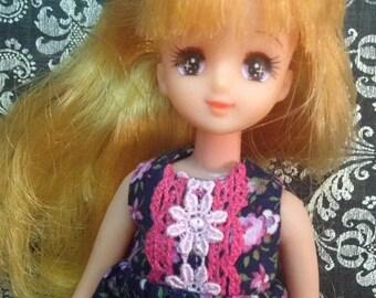 Vintage Japan Takara Licca HTF friend doll
