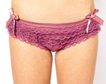 Playful Promises ruffled Panties - NWT Sz xl